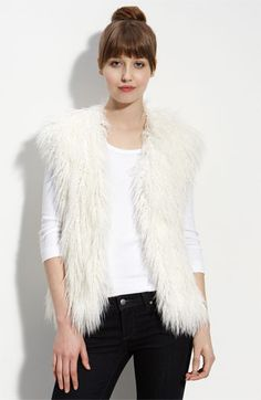 Faux Fur Vest - just ordered fabric for this! Can't wait!