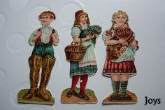 Oblate, Glanzbilder,Scraps- Lebkuchenkinder Hänsel u. Gretel