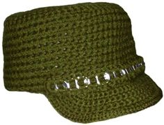 free crochet patterns for hats   ... Crochet Pattern: City Hat with Brim - Crochet Patterns, Tutorials and