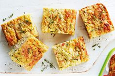 Healthy Meals For Kids, Healthy Snacks, Easy Meals, Healthy Recipes, Savoury Recipes, Healthy Slice, Healthy Mummy, Cheap Meals, Gluten Free Zucchini Slice