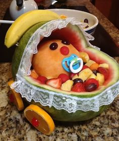 Baby Shower~ WaterMelon Carriage