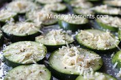 Parmesan Zucchini Crisps.