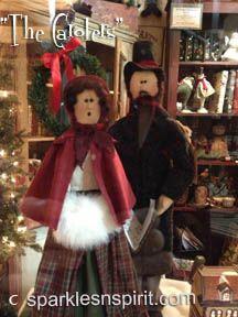 """Carolers"" Finished Dolls for sale"