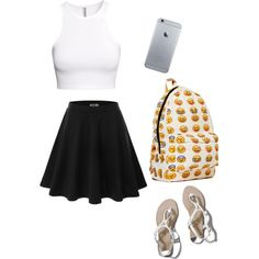 Rclbeauty101 by yazzzzzzzz on Polyvore featuring H&M, Doublju and Abercrombie & Fitch
