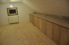 lage kasten steigerhout op maat klant - kasten /dressings - binneninrichting