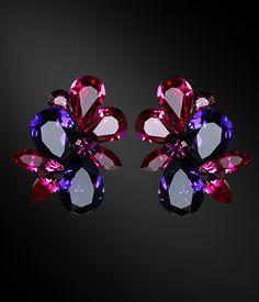 Zdenka Akro Rhinestone earring UH09004-88 - Rhinestone Jewelry | Dancesport Fashion @ DanceShopper.com