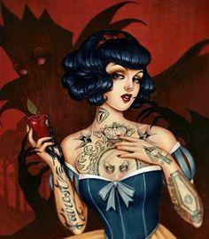 Disney tattoo Snow White