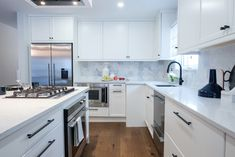 Fisher & Paykel designs and manufactures award-winning home appliances. Laundry Appliances, Home Appliances, Property Brothers Kitchen, Best Kitchen Designs, Custom Cabinetry, Extra Seating, Big Houses, New Kitchen, Cool Kitchens