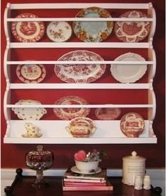 plate rack with shelf at bottom... would work over ac