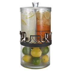 Twice as Nice Dual Beverage Jar/  Love this for a party!