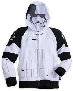 04a2a8fe8b32 Stormtrooper Zip Fleece Hoodie for Boys - Star Wars  The Last Jedi Star Wars  Outfits