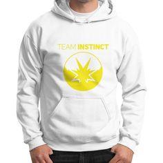 Pokemon Shirt   Team Instinct Gildan Hoodie