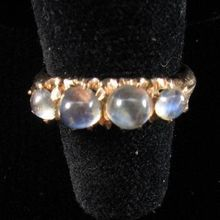 Late Victorian Moonstone and Gold Ring