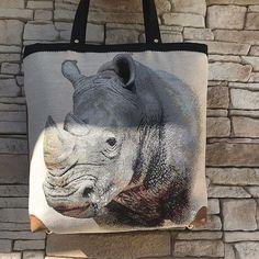 lalyvalou Voici un joli Cabotin de Sacôtin avec un Rhinoceros et un intérieur en wax 🥰💕👜#madeinfrance #faitmain #artisanat #animaux #sacamain #handmade #sacotin