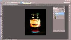 Using LAYER MASKS in Photoshop to darken a background