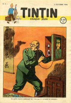 TINTIN newspaper edition Belgian No.2 October 3, 1946