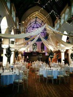 Alex's wedding the Elmgrove Centre