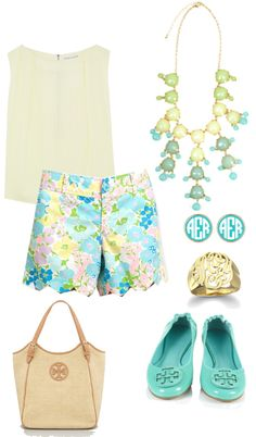 """spring outfits"" by preppy-1 ❤ liked on Polyvore"