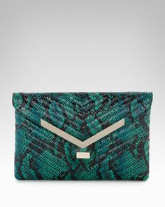 bebe   Quilted Envelope Clutch
