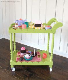 diy kids play tea cart