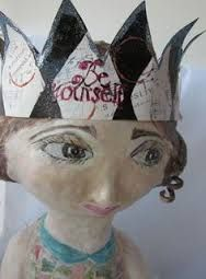Image result for paper mache dolls