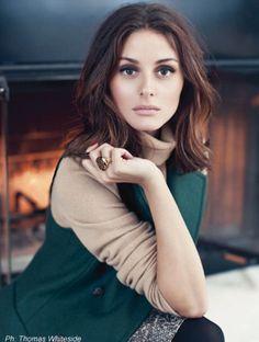 ALLAMODA: Olivia Palermo in Thomas Whiteside Photoshoot