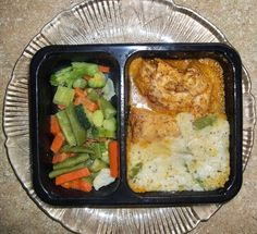 One of my favs: Diet-to-Go Turkey, asparagus risotto, veggies and carrots.