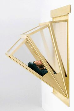 This gadget turns your window into the balcony you've always wanted Interior Architecture, Interior And Exterior, Dubai Design Week, Urban Apartment, Studio Apartment, Wtf Fun Facts, Decorating Small Spaces, Window Design, Interior Design Inspiration
