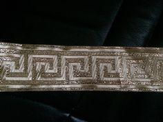 Galon medievale 5 centimetre doree a coudre