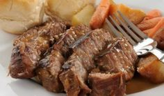 Cómo preparar la carne plateada al jugo - Sabrosía