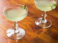 Equal parts gin, chartreuse, maraschino liqueur, and fresh lime juice, this is an old-fashioned cocktail that feels awfully modern. #gincocktails