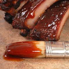 Perfect for chicken, beef or pork!. Finger Lickin Good BBQ Sauce Recipe from Grandmothers Kitchen.