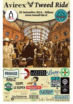 Second Avirex Tweed Ride - Milano