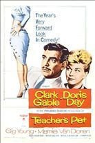 Teacher's Pet (1958). Starring: Clark Gable, Doris Day and Gig Young
