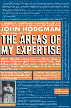 The Areas of My Expertise, http://www.e-librarieonline.com/the-areas-of-my-expertise/