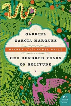 One Hundred Years of Solitude by Gabriel Garcia Marquez ~ Tells the story of the rise and fall of the mythical town of Macondo through the history of the Buendia family. This novel is a masterpiece in the art of fiction. Hundred Years Of Solitude, One Hundred Years, 15 Years, Reading Lists, Book Lists, Ernst Hemingway, Books To Read, My Books, Library Books