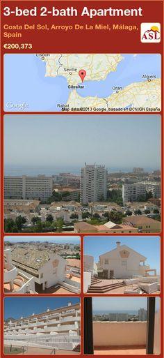 3-bed 2-bath Apartment in Costa Del Sol, Arroyo De La Miel, Málaga, Spain ►€200,373 #PropertyForSaleInSpain