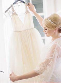 ballgown wedding dress idea; featured photographer: Marissa Lambert
