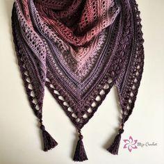Mijo Crochet – Crochet inspiration and design from Sweden Crochet Coat, Crochet Scarves, Free Knitting, Free Crochet, Crochet Shawl Diagram, Easy Crochet Projects, Crochet Shawls And Wraps, Crochet Videos, Knitting Accessories