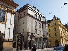 Casa Diamant. - Architetti: Emil Králíček e Matěj Blecha - 1913 - Praga, via Spálená 82
