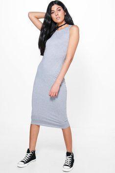 282f4e48692 Boohoo Lindsey Sleeveless Midi Dress Silver Size 10 Uk KG074 AA 06  fashion   clothing  shoes  accessories  womensclothing  dresses (ebay link)