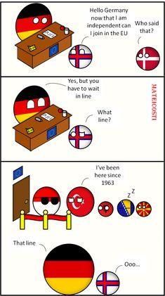 The EU line