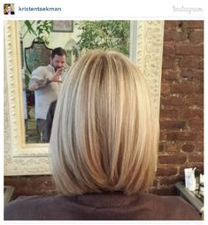 Bob hairstyles are in trends recently but long bob haircuts are extremely popular among women.That's why we have gathered these 25 Best Long Bob Haircuts for. Bob Haircut Back View, Bob Back View, Long Bob Back, Straight Bob, Medium Hair Styles, Short Hair Styles, Long Bob Haircuts, Short Haircut, Angeled Bob Haircut