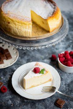 puszysty sernik Cheesecake, Desserts, Food, Tailgate Desserts, Deserts, Meal, Cheese Cakes, Eten, Cheesecakes