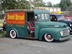 48 Ford bread truck