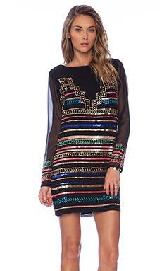 Mara Hoffman Mini Dress in Black