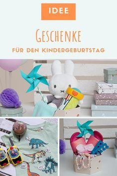 In unserem Artikel haben wir einige Ideen für Kinder aller Altersstufen für Dich zusammengetragen. #Geschenkideen Dinosaur Stuffed Animal, Toys, Animals, Cute Ideas, Primary School, Birth, Creative, Gifts, Kids