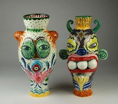 crazy ceramic monsters - Google Search