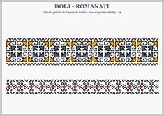 Semne Cusute: Romanian traditional motifs - OLTENIA - Dolj & Rom... Beading Patterns, Embroidery Patterns, Red Dragon Tattoo, Online Templates, Romantic Gestures, Cover Photos, Pixel Art, How To Draw Hands, Cross Stitch