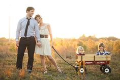 dressy family outfits | Photo by Esther Louise Photography